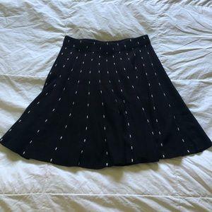 candie's black formal skirt